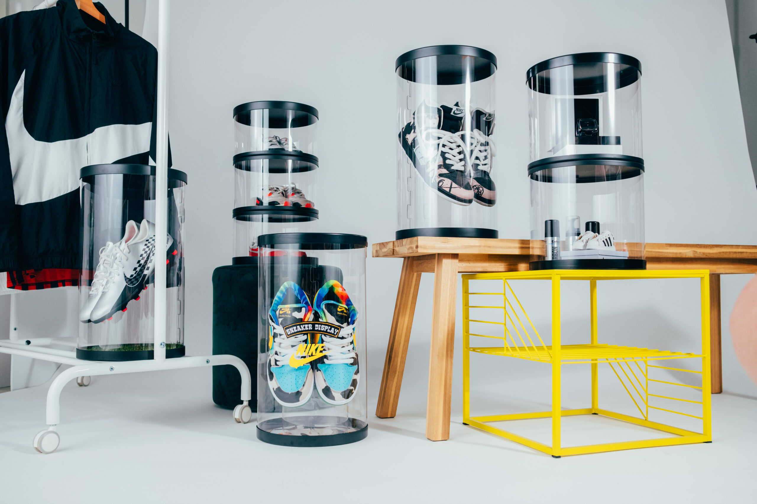 sneaker display